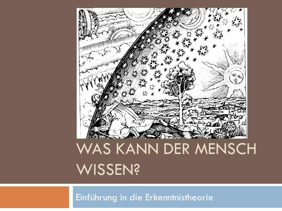 Kant und die kopernikanische Wende in der Erkenntnistheorie  Kant versuchte Rationalismus und Empirismus miteinander zu vereinbaren und vollzog dabei, was er selbst als kopernikanische Wende in der Erkenntnisphilosophie bezeichnete.