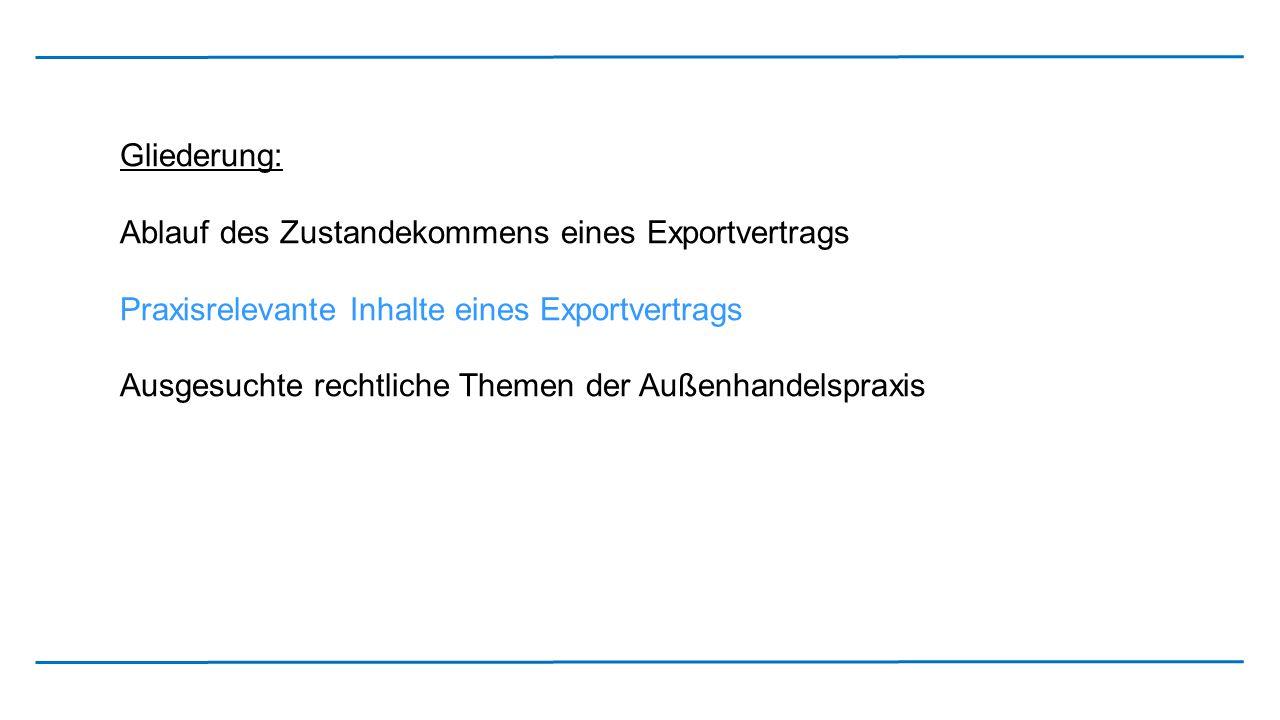 """Kaufvertrag Sale and Purchase Agreement zwischen XY GmbH … Deutschland – nachfolgend """"Verkäufer genannt– und [Vertragspartner mit Angabe der genauen Gesellschaftsbezeichnung und Anschrift] – im Folgenden """"Käufer genannt– between XY GmbH … Germany – hereinafter called """"Seller – and [Vertragspartner mit Angabe der genauen Gesellschaftsbezeichnung und Anschrift] – hereinafter called """"Buyer – § 1 Kaufgegenstand, Ausfuhrgenehmigung § 1 Contract Products, Export Permit (1) Der Verkäufer verkauft an den Käufer [Warenbezeichnung] (nachfolgend """"Kaufgegenstand genannt) nach näherer Maßgabe der Spezifikation, die diesem Vertrag als Anlage 1 beigefügt ist."""