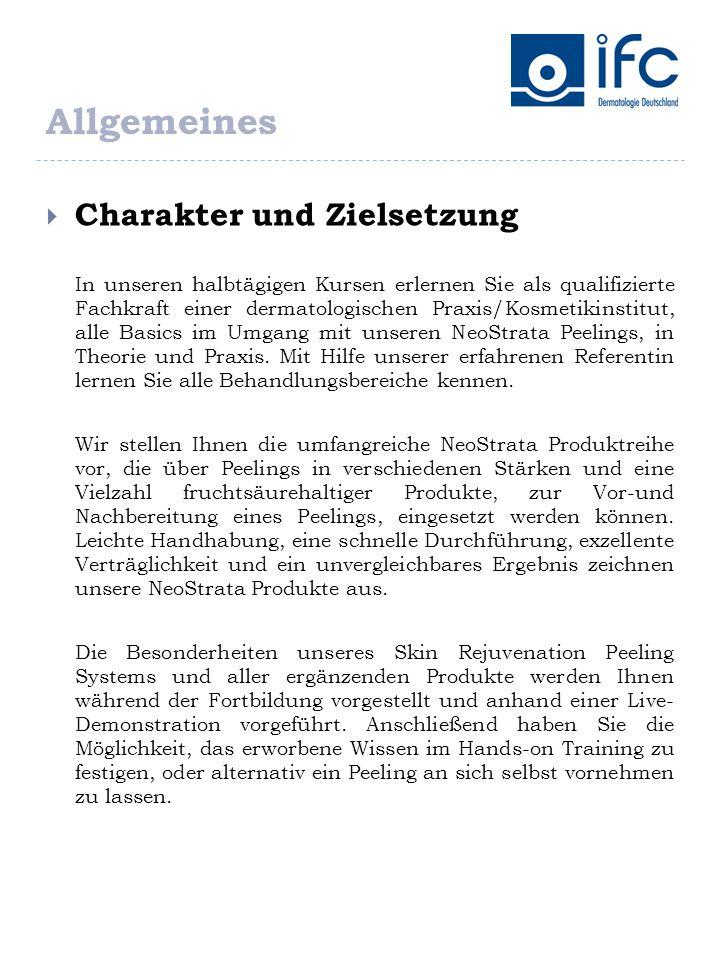 Anmeldeformular IFC Dermatologie Deutschland GmbH Industriestr.