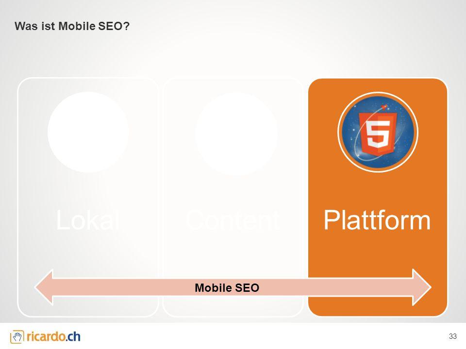 LokalContentPlattform Was ist Mobile SEO? 33 Mobile SEO