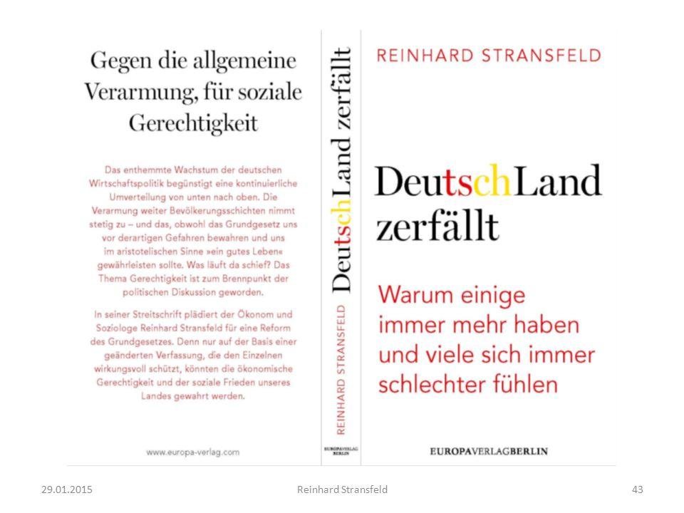 29.01.2015Reinhard Stransfeld43