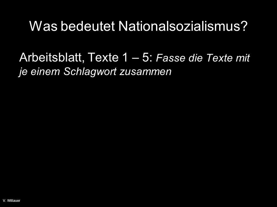 V.Willauer Was bedeutet Nationalsozialismus.