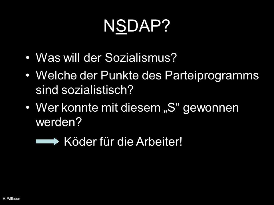 V.Willauer Aufstieg zur Macht Nov.