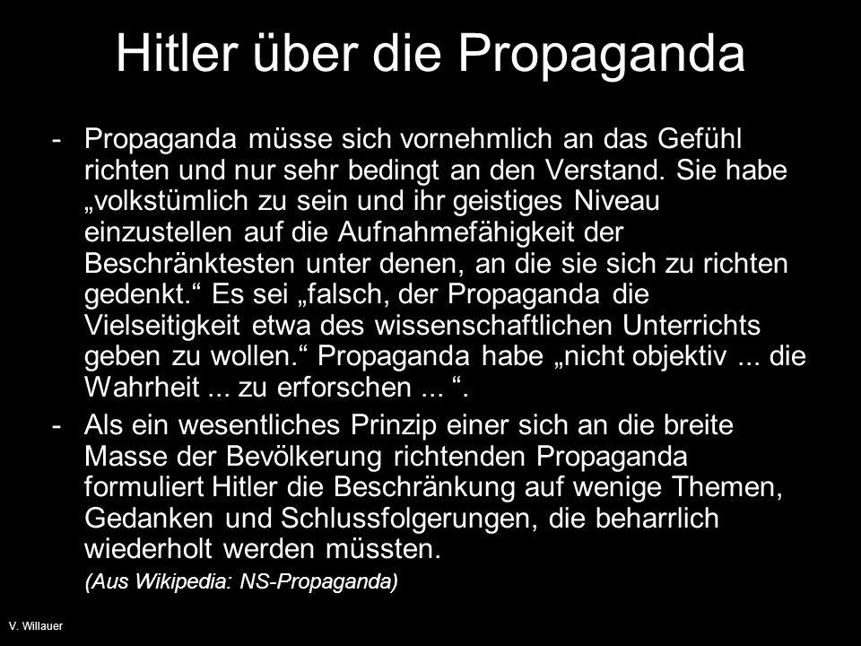 V. Willauer  eine Begründung für den Aufstieg der rechtsradikalen Partei NSDAP