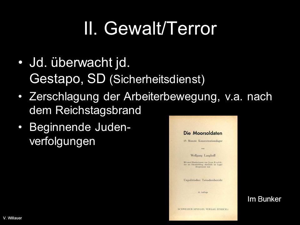 Judenverfolgung V. Willauer Arbeitsblatt Lösungsskizze