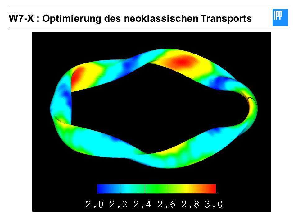 W7-X : Optimierung des neoklassischen Transports