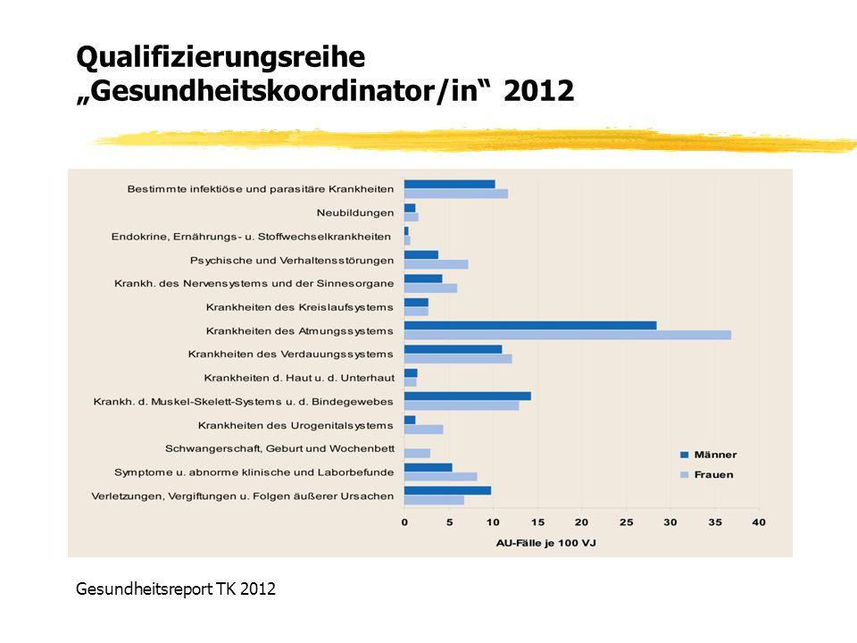 Gesundheitsreport TK 2012