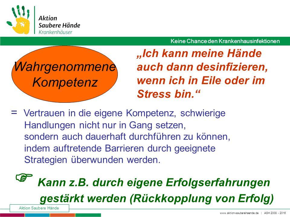 www.aktion-sauberehaende.de   ASH 2008 - 2016 Keine Chance den Krankenhausinfektionen Aktion Saubere Hände Keine Chance den Krankenhausinfektionen = V