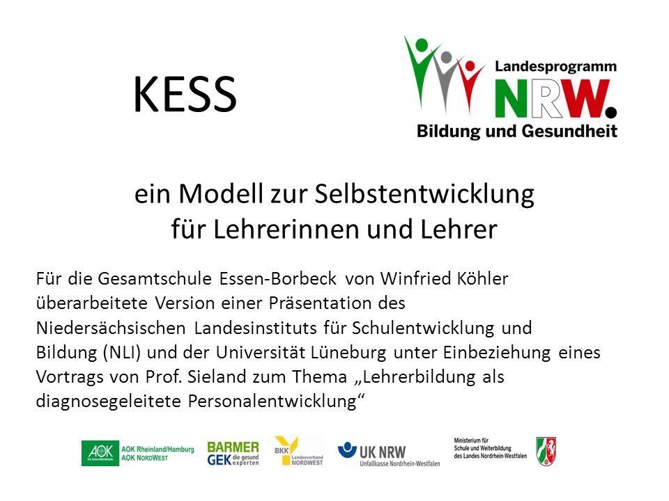 KESS Für die Gesamtschule Essen-Borbeck von Winfried Köhler überarbeitete Version einer Präsentation des Niedersächsischen Landesinstituts für Schulen