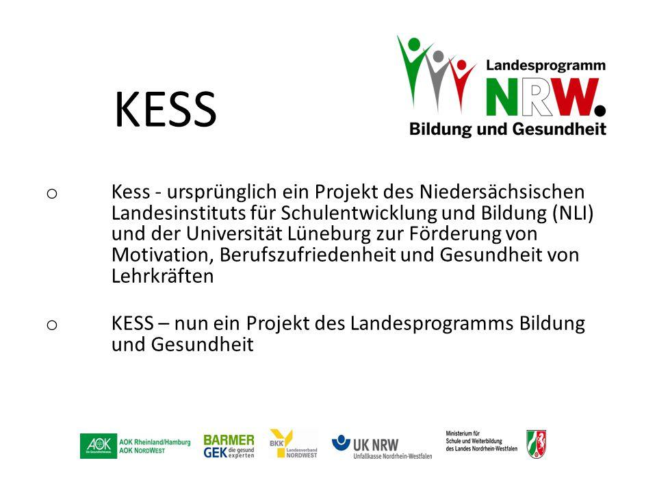 KESS o Kess - ursprünglich ein Projekt des Niedersächsischen Landesinstituts für Schulentwicklung und Bildung (NLI) und der Universität Lüneburg zur F