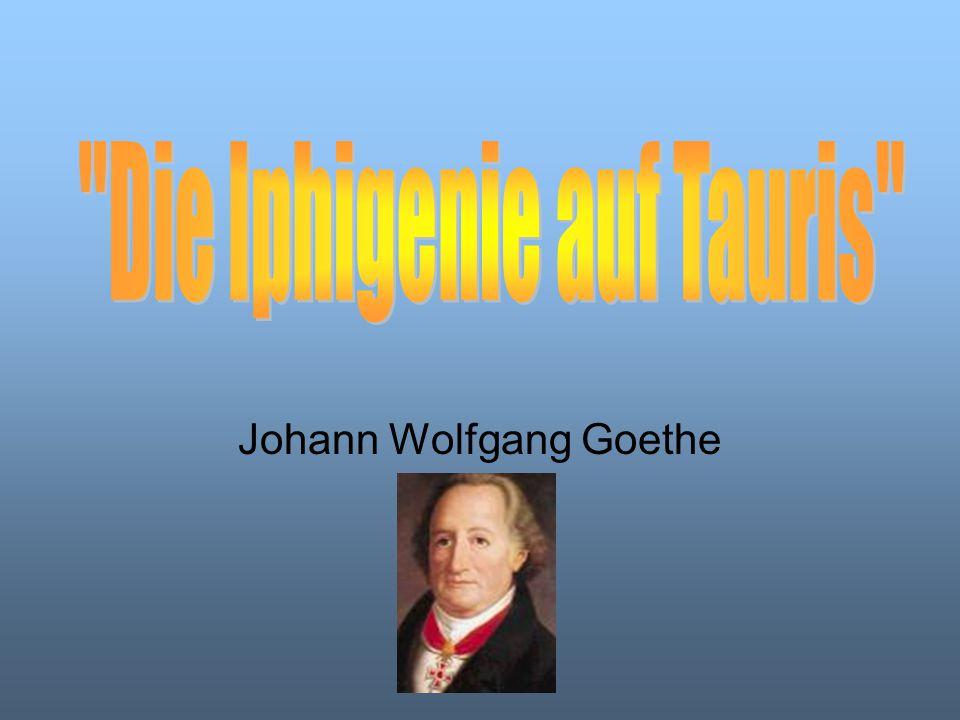 """Goethe wird in Frankfurt am Main geboren Studium in Leipzig Goethe setzt sein Studium in Straßburg fort Reise in die Schweiz Goethe vollendet """"Iphigenie 1787 während seiner Italienreise"""
