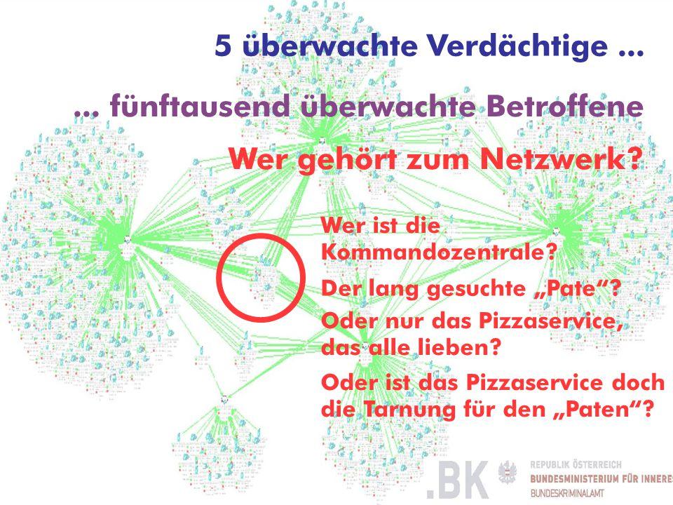 © ARGE DATEN 2014 ARGE DATEN Dr. Hans G. Zeger © Hans G. Zeger 2009 5 überwachte Verdächtige...... fünftausend überwachte Betroffene Wer gehört zum Ne