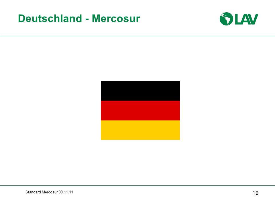 Standard Mercosur 30.11.11 Deutschland - Mercosur 19