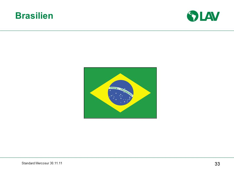 Standard Mercosur 30.11.11 Brasilien 33