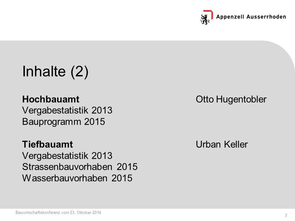 3 Bauwirtschaftskonferenz vom 23.