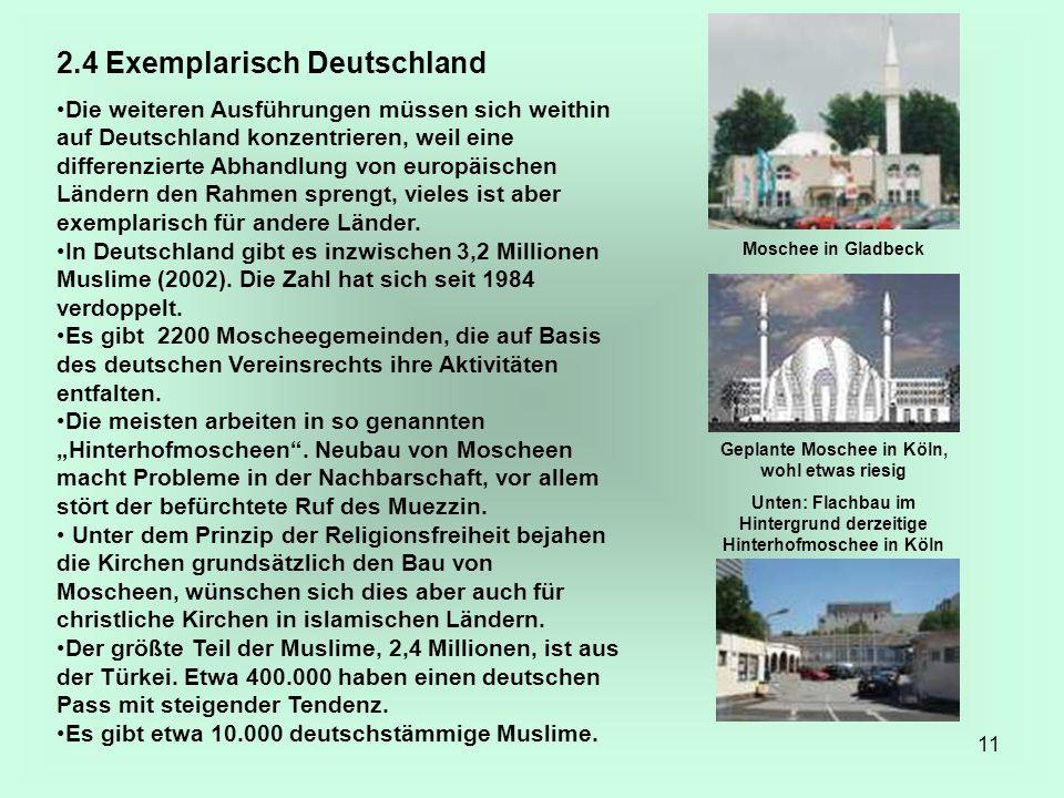 11 2.4 Exemplarisch Deutschland Die weiteren Ausführungen müssen sich weithin auf Deutschland konzentrieren, weil eine differenzierte Abhandlung von e