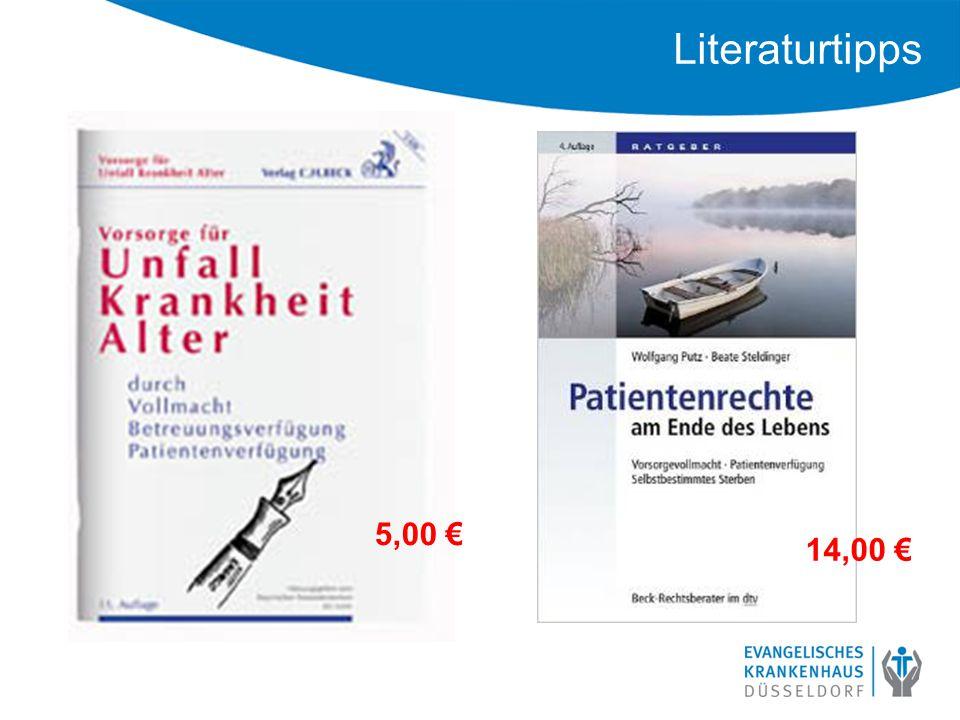 Literaturtipps 14,00 € 5,00 €