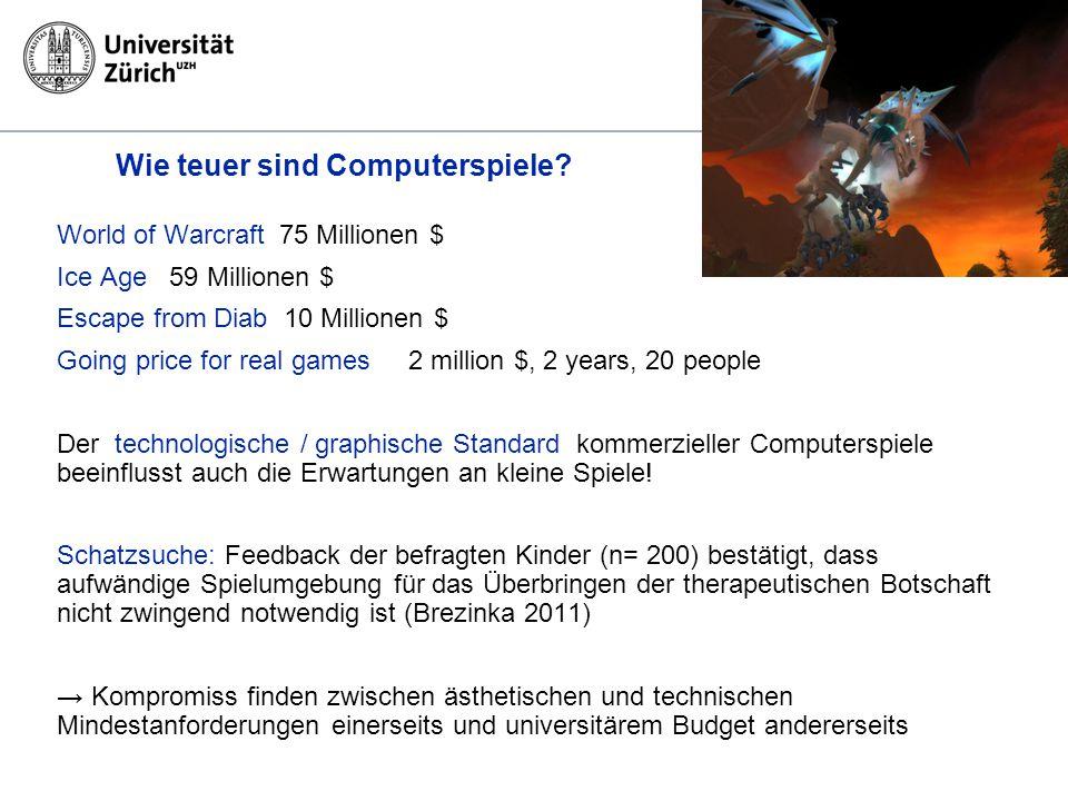 Kinder- und Jugendpsychiatrischer Dienst des Kantons Zürich Wie teuer sind Computerspiele.