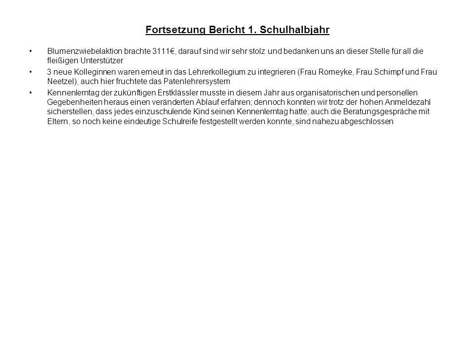 Top 3: Schulwegsbegleitung statt Schultagsbegleitung – Herr Bühring Herr Bühring (Stell.