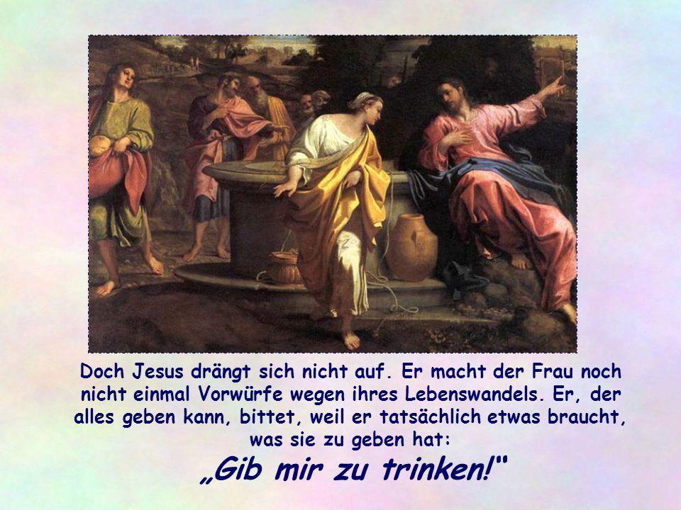 """Am Kreuz, auch das bezeugt Johannes, der es selbst gesehen hat, strömen aus der von einem Soldaten geöffneten Seite Jesu """"Blut und Wasser"""" 5) : Zeiche"""