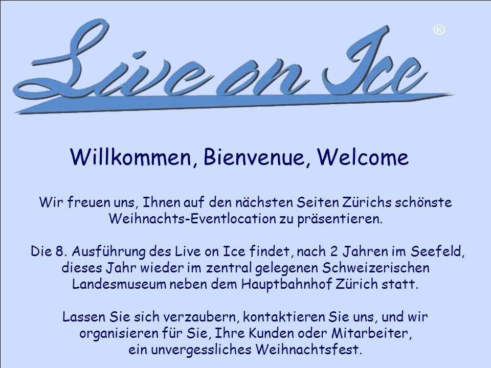 Wir freuen uns, Ihnen auf den nächsten Seiten Zürichs schönste Weihnachts-Eventlocation zu präsentieren.