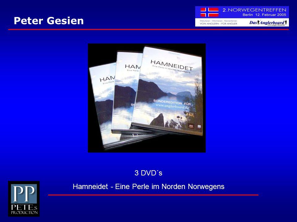 Peter Gesien 3 DVD´s Hamneidet - Eine Perle im Norden Norwegens