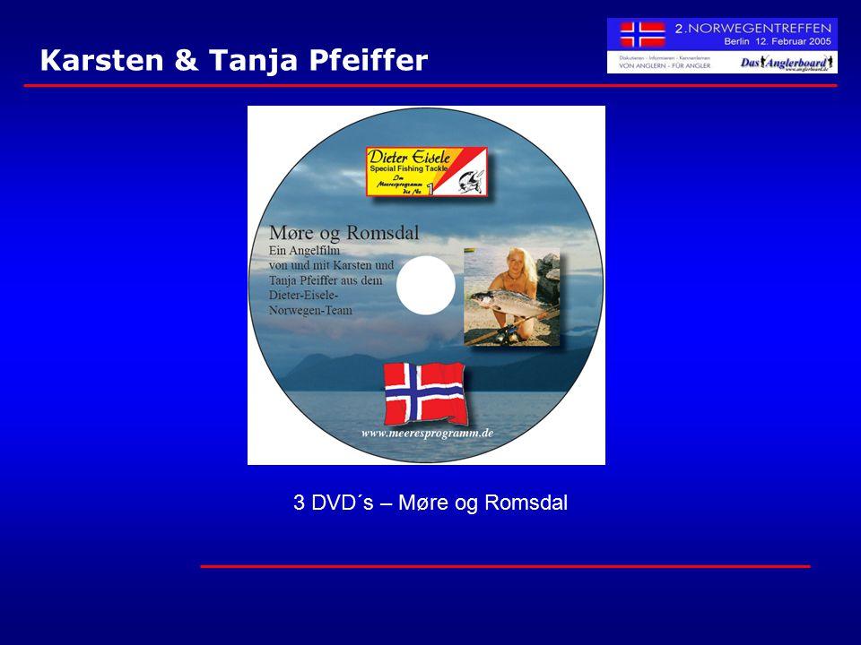 Karsten & Tanja Pfeiffer 3 DVD´s – Møre og Romsdal