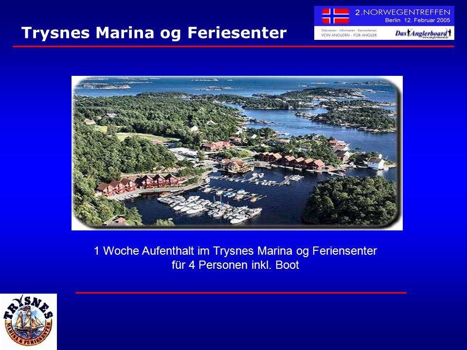 Trysnes Marina og Feriesenter 1 Woche Aufenthalt im Trysnes Marina og Feriensenter für 4 Personen inkl. Boot