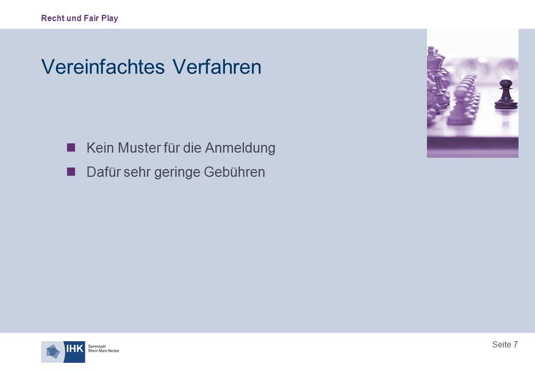 Recht und Fair Play Seite 18 Gesellschafterliste Gericht kann nach § 132 Abs.