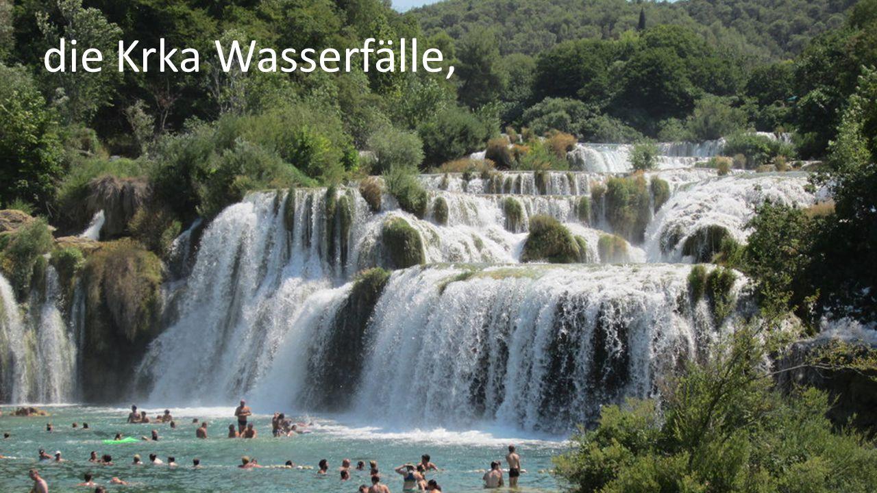 die Krka Wasserfälle,