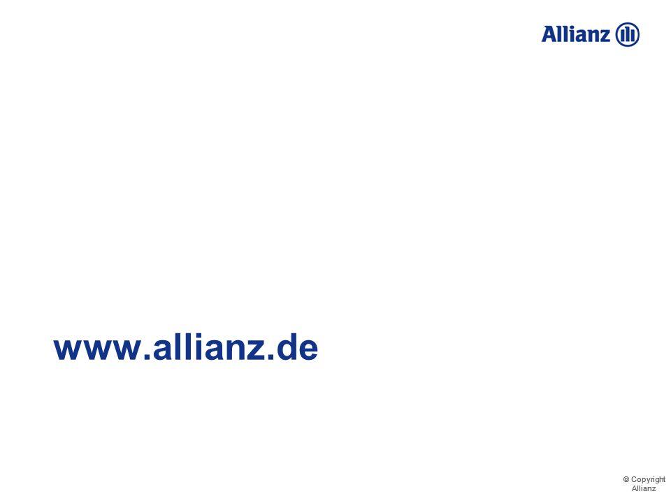 © Copyright Allianz © Copyright Allianz