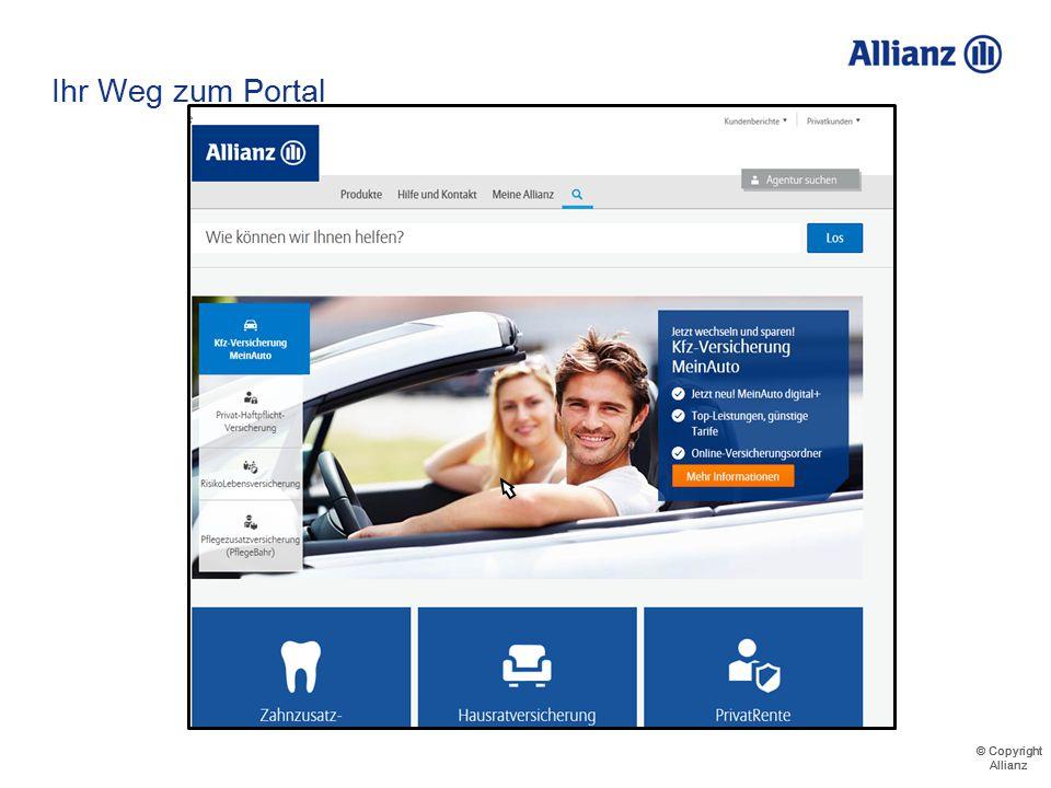 © Copyright Allianz © Copyright Allianz www.allianz.de