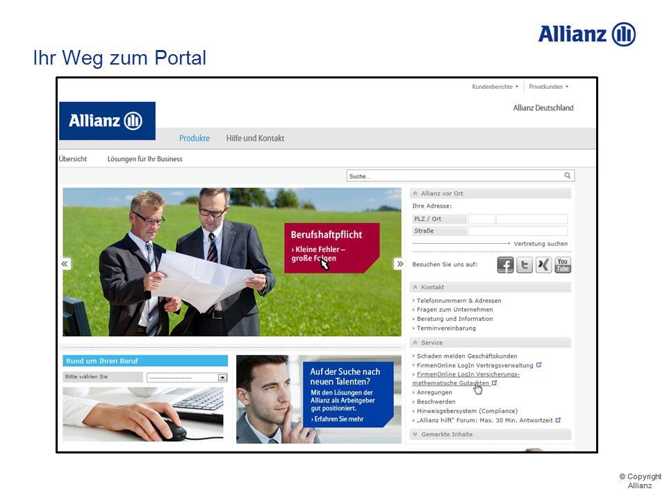 © Copyright Allianz © Copyright Allianz https://business.allianz.de