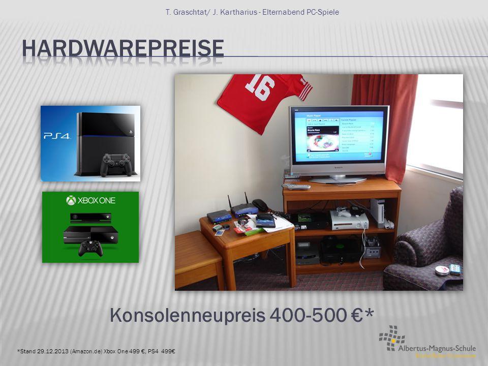 Standalone TitelMMORPGGamecards 58,43 €*16,16 € zzgl. 10,99 € mtl. 10/25€ *bei Konsolen Zusatzkosten für Online Nutzerkonten T. Graschtat/ J. Karthari
