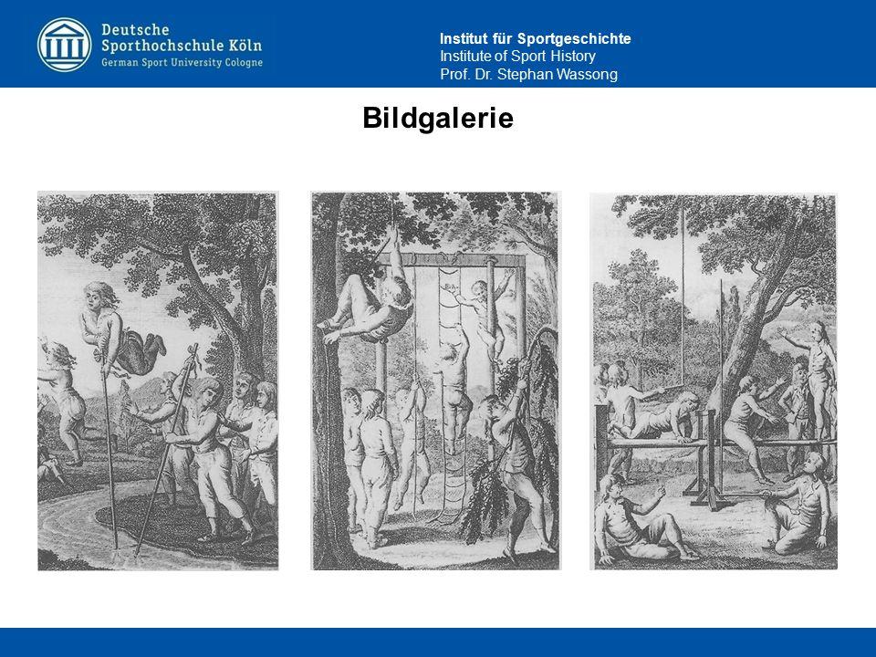 Institut für Sportgeschichte Institute of Sport History Prof. Dr. Stephan Wassong Bildgalerie