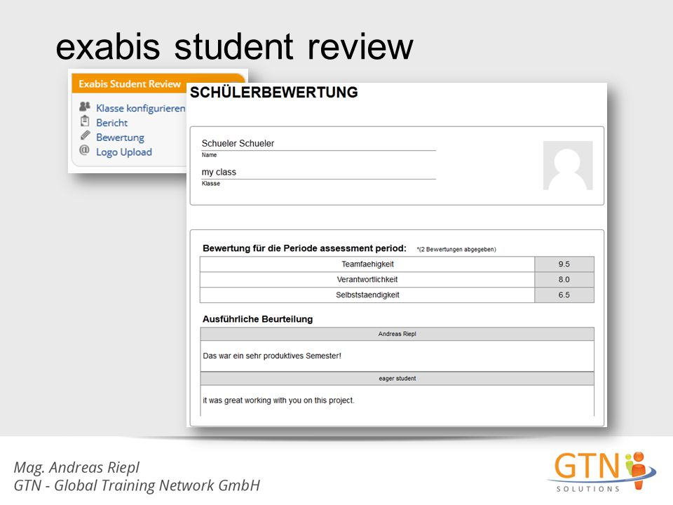 exabis student review