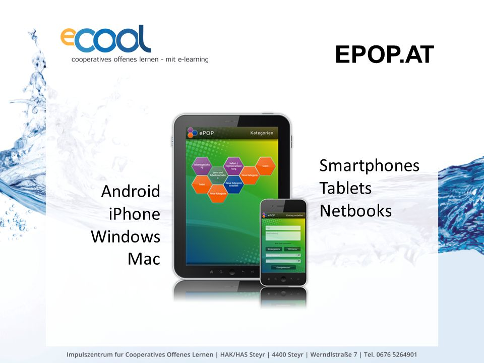 EPOP.AT Smartphones Tablets Netbooks Android iPhone Windows Mac
