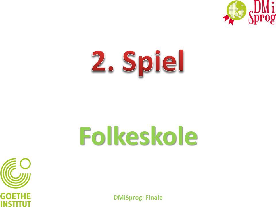 Folkeskole DMiSprog: Finale: Wer wird Millionär?