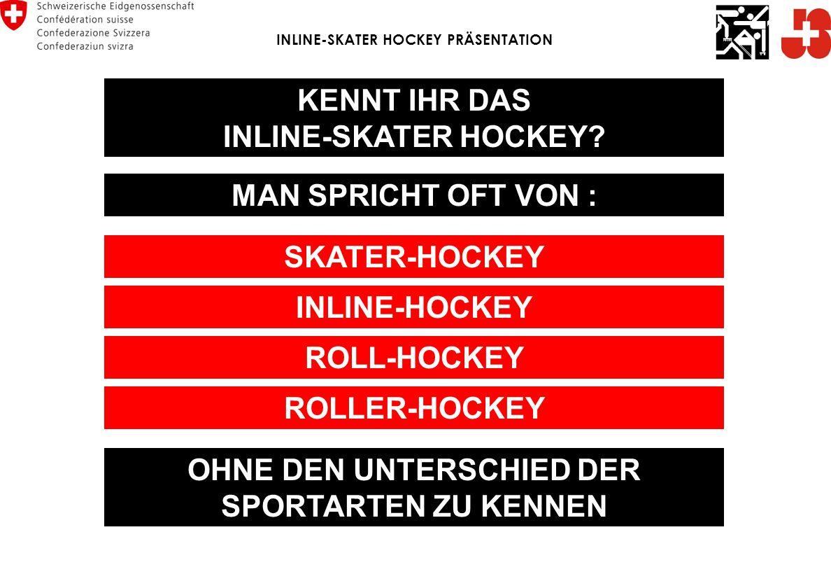 FRAGEN ? Edition M.Reber 08/2009 INLINE-SKATER HOCKEY PRÄSENTATION