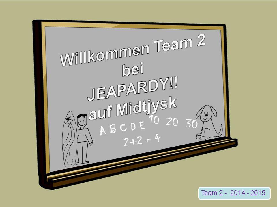 Team 2 - 2014 - 2015
