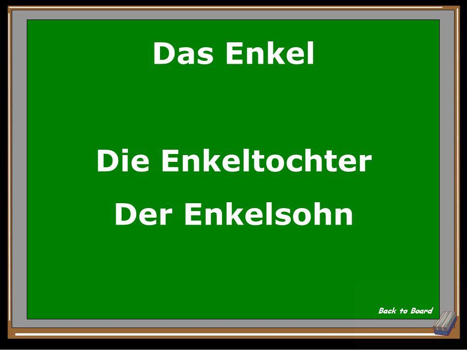 Wie heißt 'barnebarn' auf Deutsch Show Answer