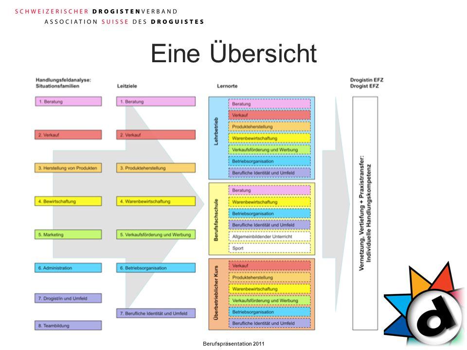 Berufspräsentation 2011 Eine Übersicht