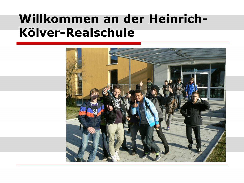 Willkommen an der Heinrich- Kölver-Realschule