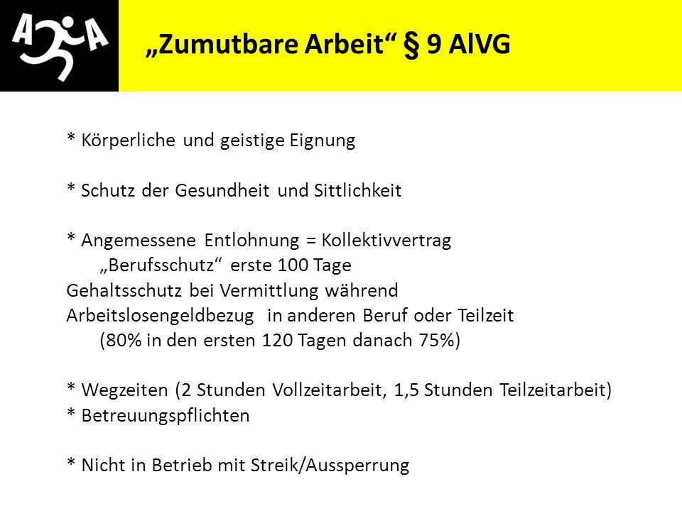 AIVG Novelle > verschlechtert Sperren, Österreich 1993 - 2012