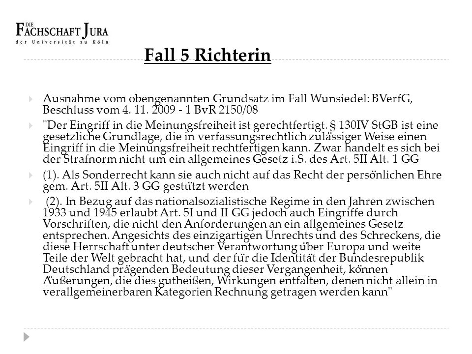 Fall 5 Richterin  2.