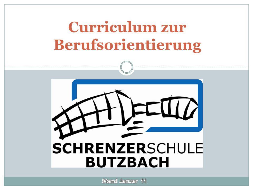Vorwort Die folgende Präsentation möchte den Bereich Berufsorientierung an der Schrenzerschule Butzbach verdeutlichen.