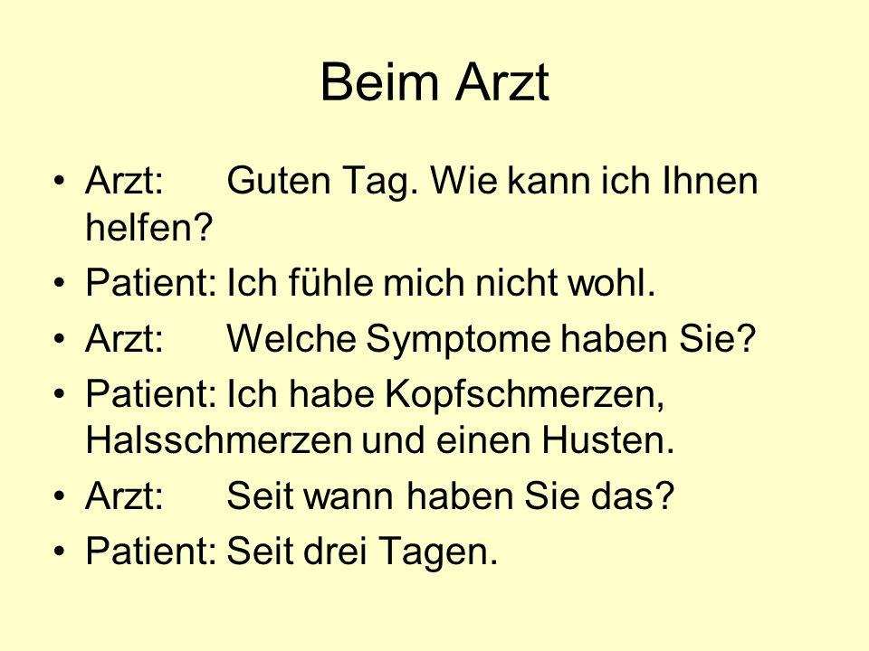 Ärzte in Deutschland Kinderarzt Hausarzt Zahnarzt Hals-,Nasen- und Ohrenarzt.