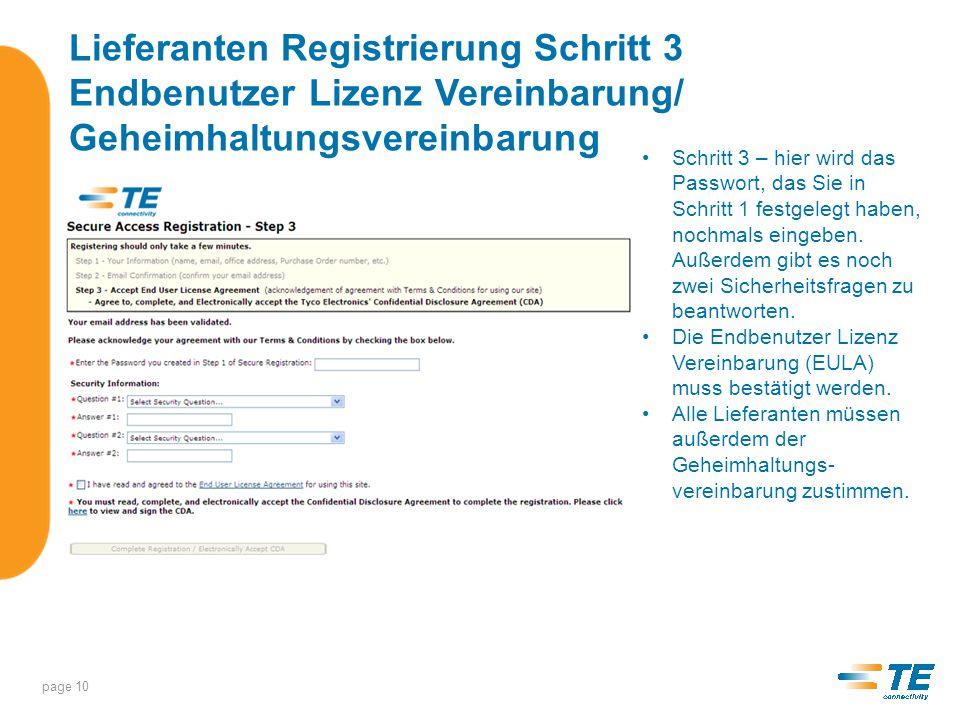 Wenn sich das Geheimhaltungs- vereinbarung öffnet, lesen Sie diese bitte durch und bestätigen Sie mit der Eingabe Ihrer Email Adresse.