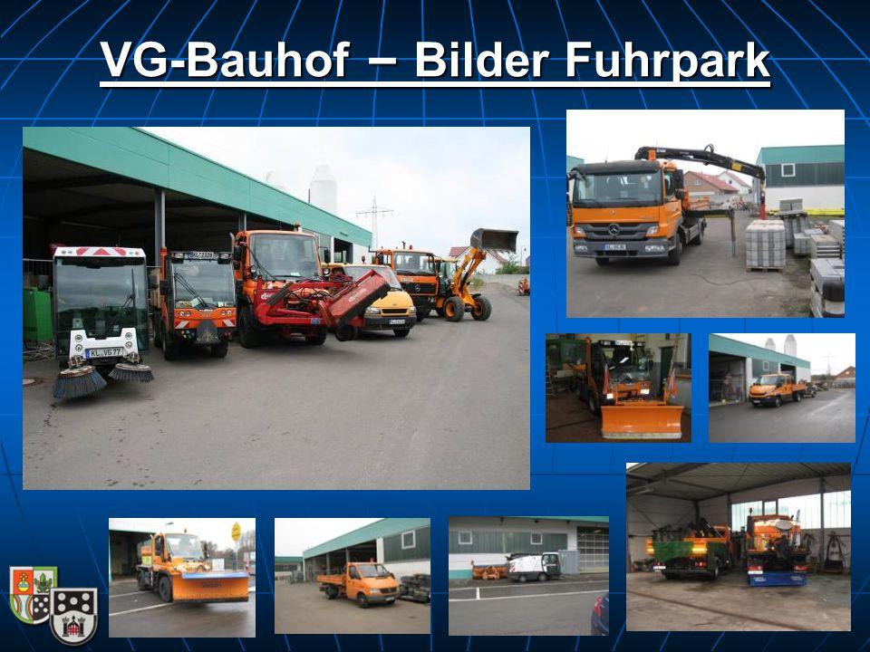 VG-Bauhof – Bilder Fuhrpark