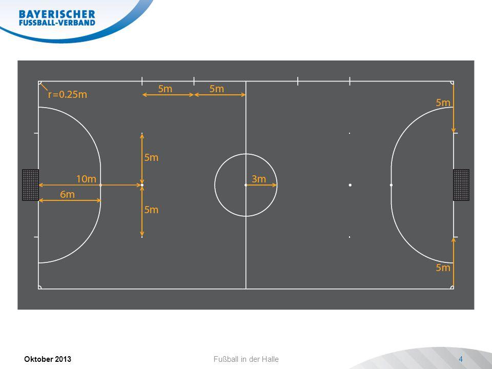 Oktober 2013Fußball in der Halle15 futsal